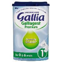 Alimentation Infantile GALLIAGEST Lait en poudre 1er age 900g