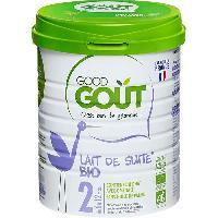 Alimentation Infantile GOOD GOUT Lait en poudre 2e age 800g