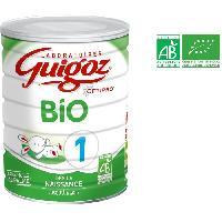 Alimentation Infantile GUIGOZ Optipro Bio Lait en poudre 1er age - 800 g - De 0 a 6 mois