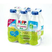 Alimentation Infantile HIPP BIOLOGIQUE Croissance Lait 3eme age - 6x1 L - De 10 mois a 3 ans