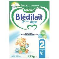 Alimentation Infantile Lait en poudre - 2eme Age - Bag in Box 1.2kg