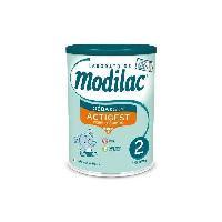 Alimentation Infantile MODILAC ACTIGEST Lait en poudre 2e age 800g - Aucune