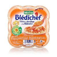 Alimentation Infantile Pates au jambon - 250g