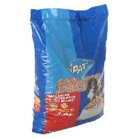 Alimentation Macaroni et croquettes riches en boeuf - Pour chien - -x1