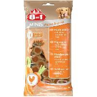 Alimentation Minis Chicken et Carrot 100gr pour chien