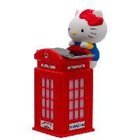 Alimentation Multimedia Enfant HELLO KITTY Chargeur sans-fil cabine téléphonique London - Rouge - Teknofun