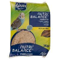Alimentation Nutri'balance Melange de graines - Pour perruches - 3kg