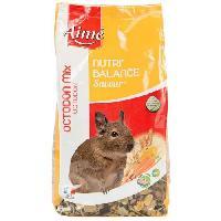 Alimentation Nutri'balance Savour Mix Melange de granules - Pour octodon - 900g