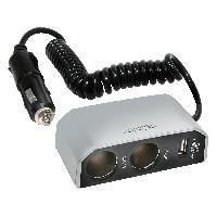 Allume-Cigare & Cendriers Double prise allume-cigare -USB- 12V 8A