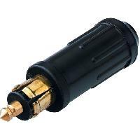 Allume-Cigare & Cendriers Prise allume-cigare - Borne a vis - 15A - Noir - Sans cable ADNAuto