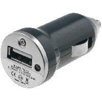 Allume-cigare 12V Adaptateur mini Allume-cigare USB 5V 1A noir ADNAuto