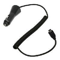 Allume-cigare 12V Cable de charge -mini USB- 12-24V