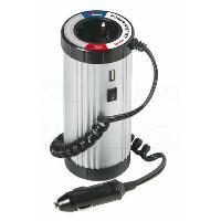 Allume-cigare 12V Convertisseur de tension 12V vers 220V - 150W - Avec Port USB - ADNAuto