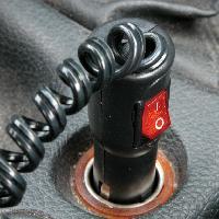 Allume-cigare 12V Prise allume-cigares avec interrupteur 12V - ADNAuto