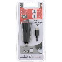 Allume Cigare - Prise Allume-cigare CONNEXION Chargeur Allume cigare 12V24V - USB 2.1A + Cable