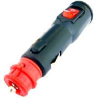Allume Cigare - Prise Allume-cigare Prise allume-cigare universelle 12 24V 8A avec interrupteur - ADNAuto