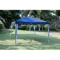 Amenagement Exterieur - Du Jardin BEAU RIVAGE Tonnelle de jardin Cebu - 3x3m - Bleu
