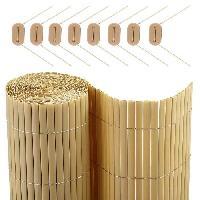 Amenagement Exterieur - Du Jardin CATRAL Canisse en PVC DF - 0.9 x 3m - Beige sable