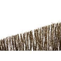Amenagement Exterieur - Du Jardin Cloture naturelle en brande 1.5 cm - 1 x 5m