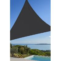 Amenagement Exterieur - Du Jardin Toile triangulaire 3M gris anthracite