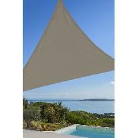 Amenagement Exterieur - Du Jardin Toile triangulaire 3M taupe