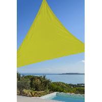 Amenagement Exterieur - Du Jardin Toile triangulaire 3M vert anis