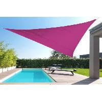 Amenagement Exterieur - Du Jardin Toile triangulaire 5M rose