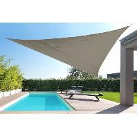 Amenagement Exterieur - Du Jardin Toile triangulaire 5M taupe