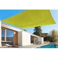 Amenagement Exterieur - Du Jardin toile rectangulaire 2.45x3.45M vert anis