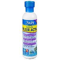 Amenagement Technique De L'habitat API Demarrage et entretien Aqua Filter Activ 237ml - Pour aquarium