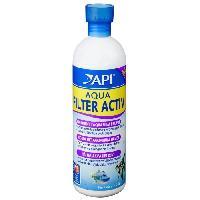 Amenagement Technique De L'habitat Aqua Filter Activ 473ml pour maintenir eau propre - Pour aquarium
