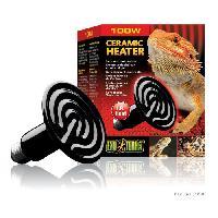 Amenagement Technique De L'habitat EXO TERRA Ampoule Ceramic Heater 100W - Pour reptiles