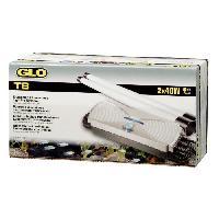 Amenagement Technique De L'habitat GLO Kit ballast double 40 W - Pour aquarium Aucune