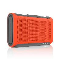Amplificateur - Enceintes BALOGG Enceinte bluetooth - Waterproof IPX7 - Orange et noir