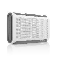 Amplificateur - Enceintes BALWGG Enceinte bluetooth - Waterproof IPX7 - Blanc