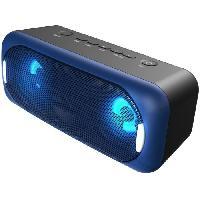 Amplificateur - Enceintes BLAUPUNKT BLP3940-133 Enceinte Bluetooth -  LED Multicolores - Noir