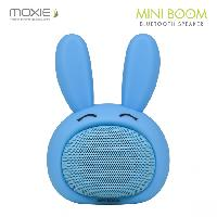 Amplificateur - Enceintes Enceinte bluetooth Mini Boom Lapin bleu MOXIE