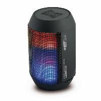 Amplificateur - Enceintes HPG323BTL Enceinte bluetooth portable - Kit mains libres Microphone - Eclairage LED