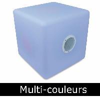 Amplificateur - Enceintes HSB 513BTL Enceinte bluetooth - Cube Tabouret multi-couleurs