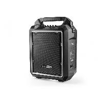Amplificateur - Enceintes Haut-parleur Bluetooth 2 voies avec trolley 10 pouces rechargeable - Caliber