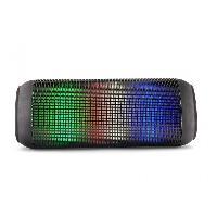 Amplificateur - Enceintes Haut-parleur Bluetooth LED multicolores AUX- IN USB Micro SD rechargeable Caliber