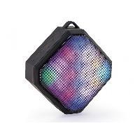 Amplificateur - Enceintes Haut-parleur portable Bluetooth LED multicolores rechargeable
