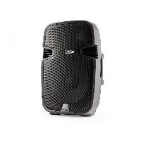 Amplificateur - Enceintes Haut-parleur trolley Bluetooth actif 2 voies 15 pouces rechargeable - Caliber