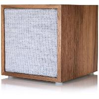 Amplificateur Hifi TIVOLI ART CUBE Enceinte WIFI Noyer - Bluetooth et WiFi - Finition Bois et Tissu - Compatible Multiroom - Appairage stereo possible - Tivoli Audio