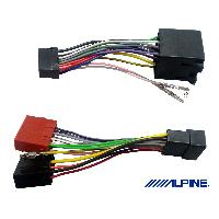 Amplificateurs auto KCE-445 - Cable adaptation compatible avec KTP-445 et KTP-445A