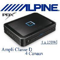 Amplificateurs auto PDX-F6 - Amplificateur 4 canaux Classe D - 4x150W RMS - Serie PDX