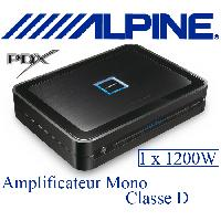 Amplificateurs auto PDX-M12 - Amplificateur Mono Classe D - 1x1200W RMS - Serie PDX