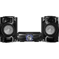 Amplification Et Restitution Du Son PANASONIC AKX520 - Mini Chaîne Hi-fi compacte - Bluetooth - 450W - Fonction Karaoké. double USB