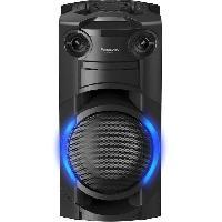 Amplification Et Restitution Du Son PANASONIC SC-TMAX10E-K - Mini-Chaîne Hi-fi compacte Bluetooth - 300W - CD+Radio FM - Usb 2.0 - Fonction DJ. Karaoké