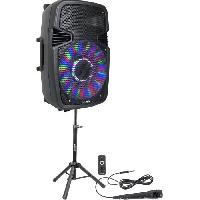 Amplification Et Restitution Du Son PARTY PARTY-15PACK - Pack de sonorisation avec enceinte active de 15''/38cm - 800W. USB. Bluetooth. FM + Micro